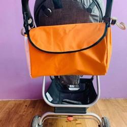 Чанта за бебешка количка , оранжева