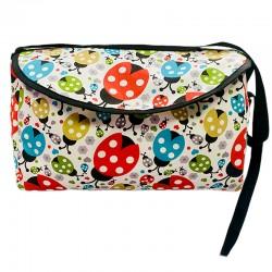 Чанта за бебешка количка , калинки
