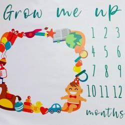 Килимче за първата година на бебето - Играчки