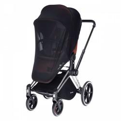 Комарник за детска количка - черен