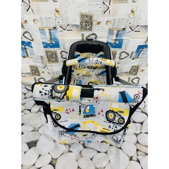 Комплект  чанта, калъф за борд и протектори за дръжка - Багери