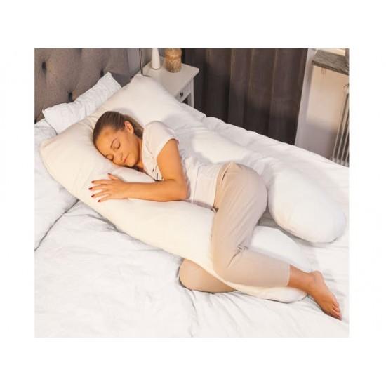 Луксозна У-образна възглавница за бременни и кърмене