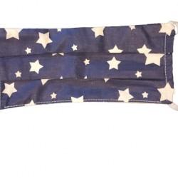 Маска за възрастни Тъмно сини звезди