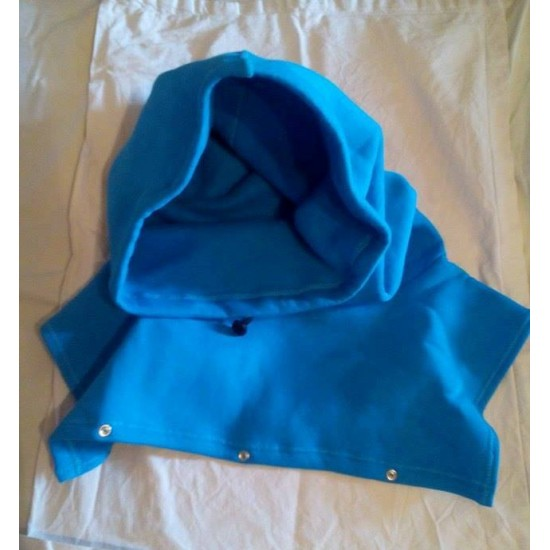 Шапка за мама и бебе слинг ,кенгуро ерго раница синя