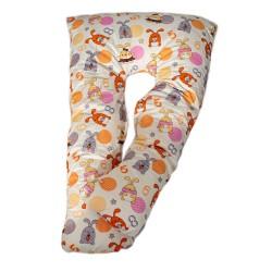 Възглавница за бременни у -образна зайчета