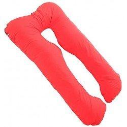 Възглавница за бременни у -образна червена