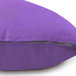 Възглавница за бременни у -образна лилава