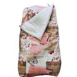 Спален комплект с цип Пеперуди
