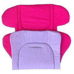 Постелка циклама- лилава ,подложка за количка