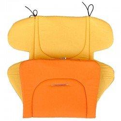 Постелка оранжево-жълта