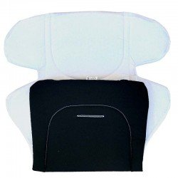 Постелка за количка черно - бяла
