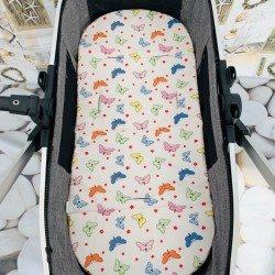 Подложка за количка лукс малки пеперуди