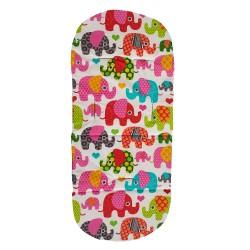 Подложка за количка - лукс- шарен слон