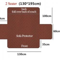 Покривало за диван - двуместно, 130х195 см