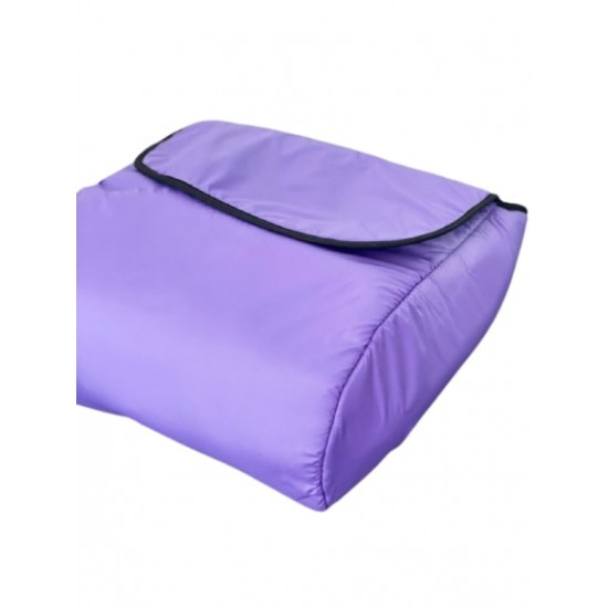 Универсално покривало за крачета за бебешка количка, лилаво