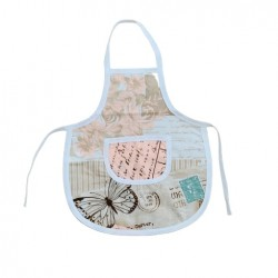 Детска готварска престилка Пеперуди