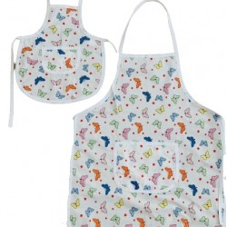 Комплект престилки за готвене Малки пеперуди