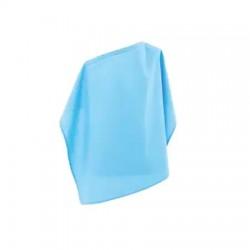 Престилка за кърмене - синя