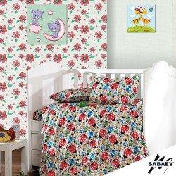Бебешки спален комплект  калинки