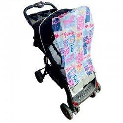 Тента за бебешка количка принцеси