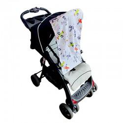 Тента за бебешка количка самолети