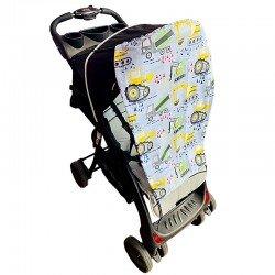 Тента за бебешка количка багери