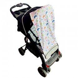 Тента за бебешка количка малки пеперуди