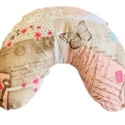 Калъфка за Възглавница за кърмене за ръка Пеперуди